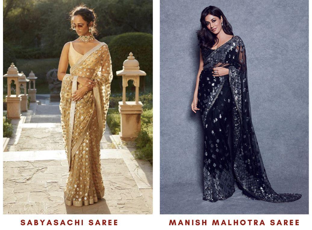 Indian Wedding Guest Dresses - Designer Saree