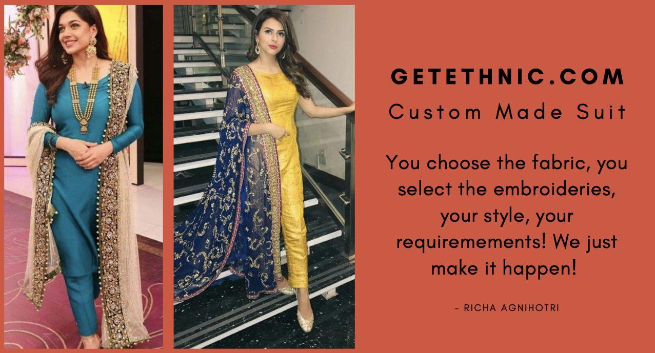 Custom made Punjabi Suit