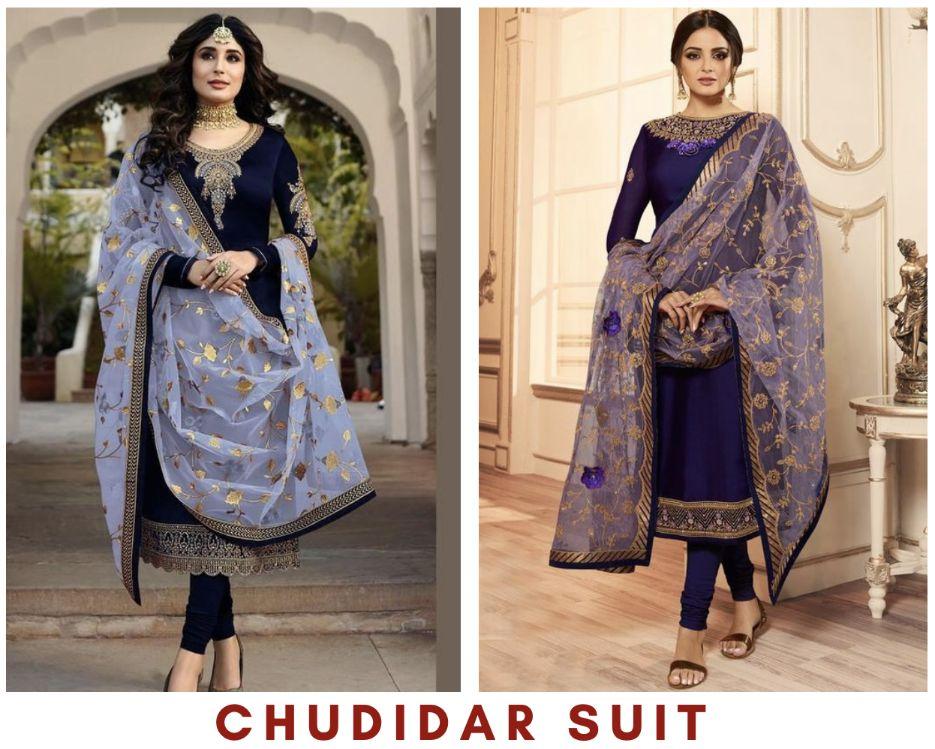 Chudidar suit - GetEthnic.com