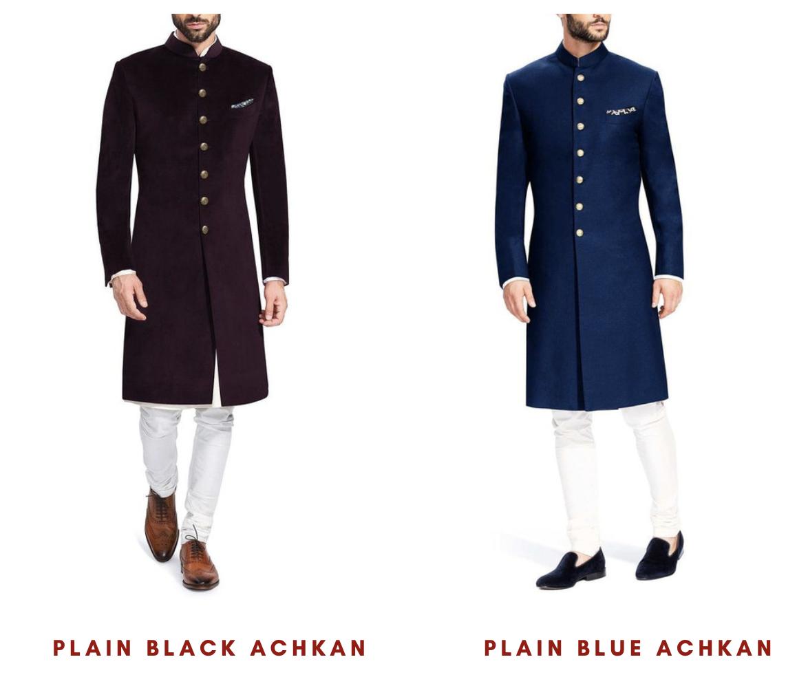 Achkan - Royal Indian Wedding Attire