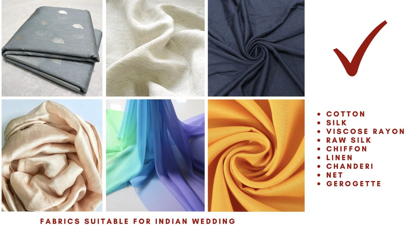 Preferable Fabrics for Wedding Guests