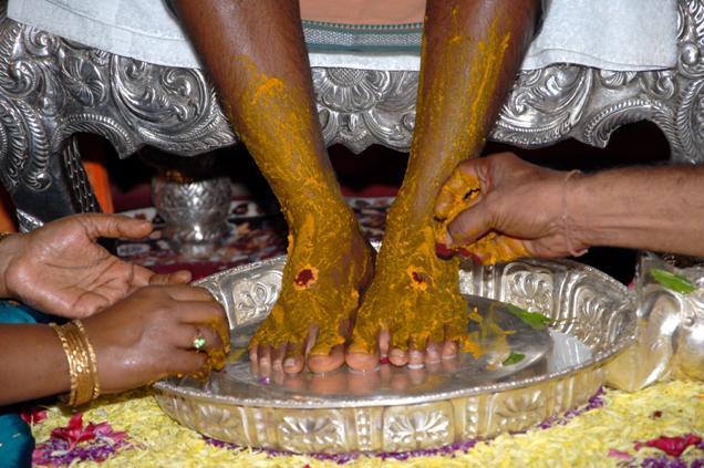 Pada Pooja - South Indian Wedding