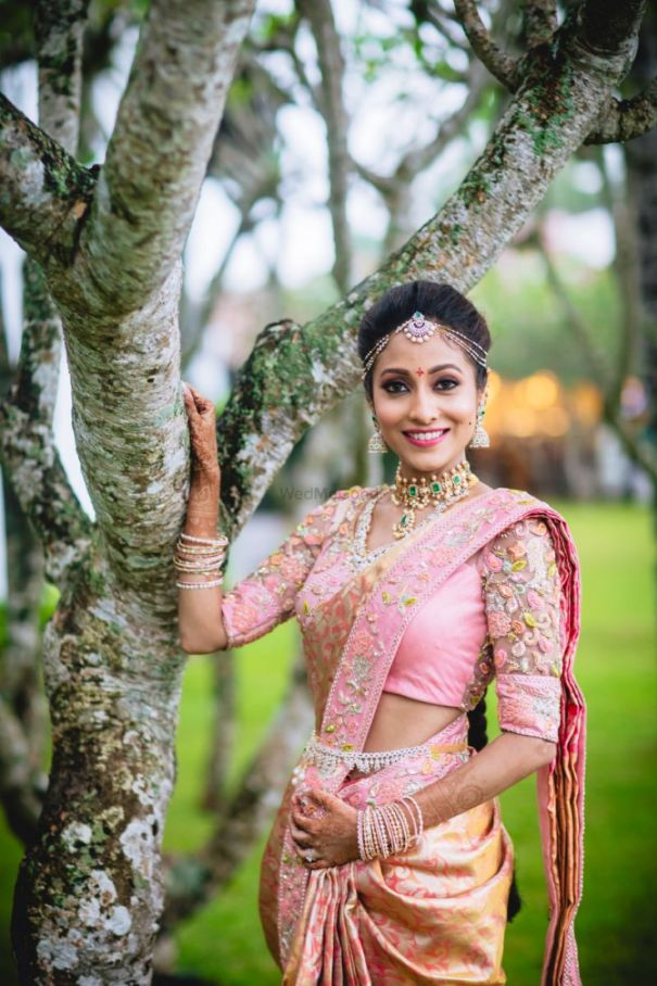 South Indian Wedding - South Indian Bride
