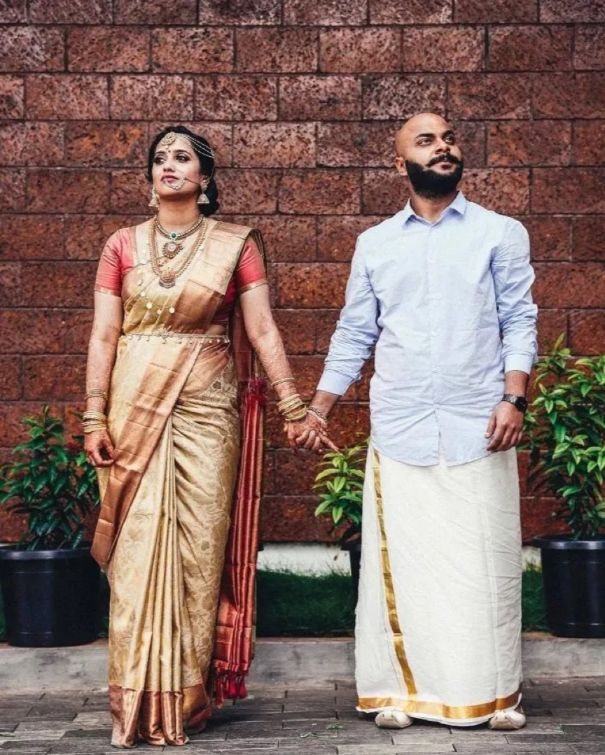 South Indian Wedding - South Indian Bride and groom
