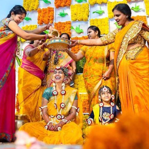 Mangala Snanam - South Indian Wedding