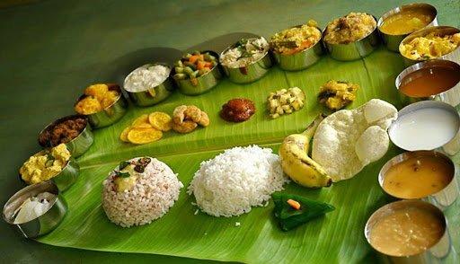 South Indian Wedding Reception