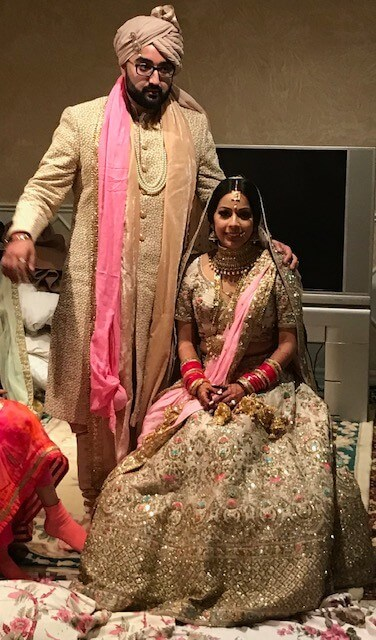 Bride and Groom-Sabyasachi Inspired Look