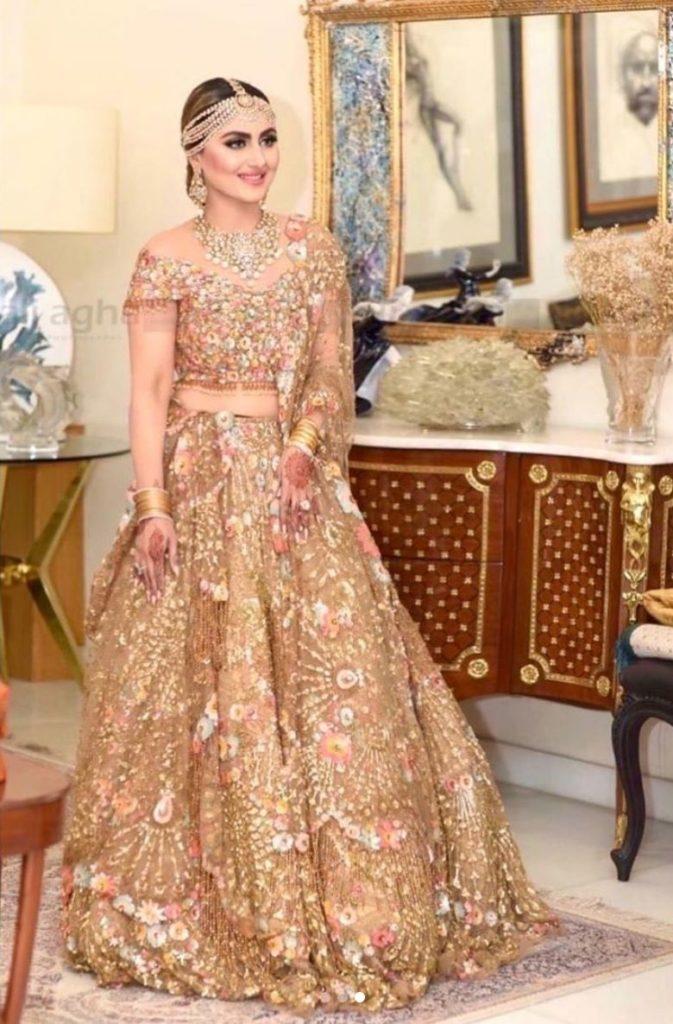 Golden Lehenga Bridal