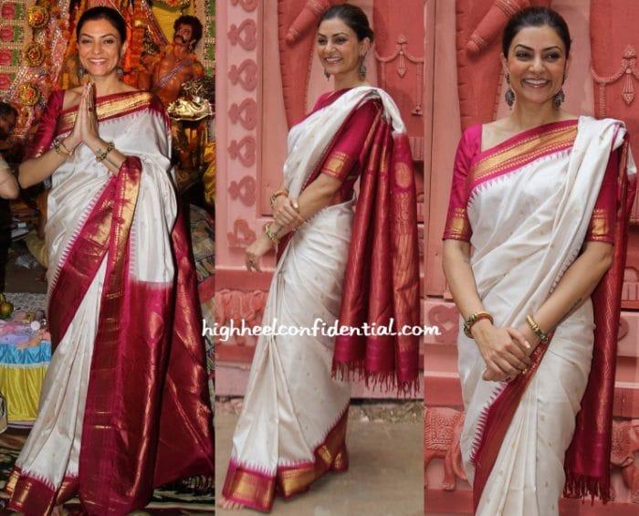 Narayanpeth south Indian wedding saree