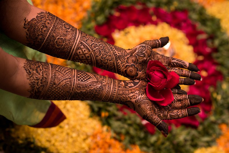 Mehndi ceremony - Muslim Wedding
