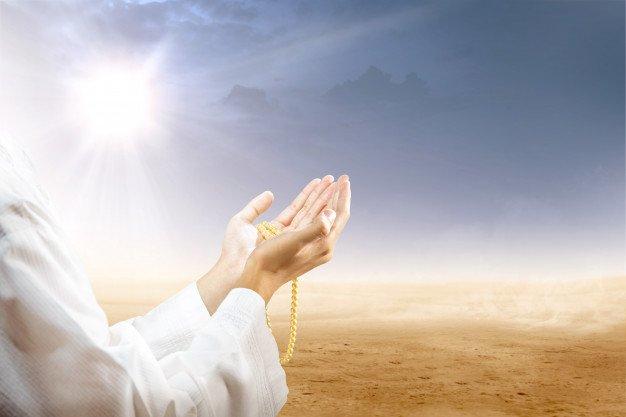 Muslim wedding - Prayer