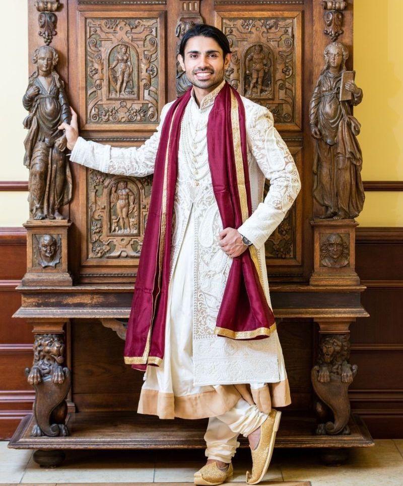 Indian Groom Outfit - Kurta Pajama