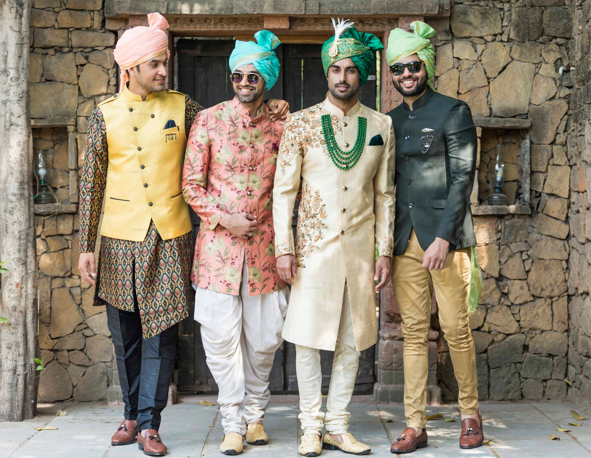 Indian Groom Outfits - Kurta Pajama