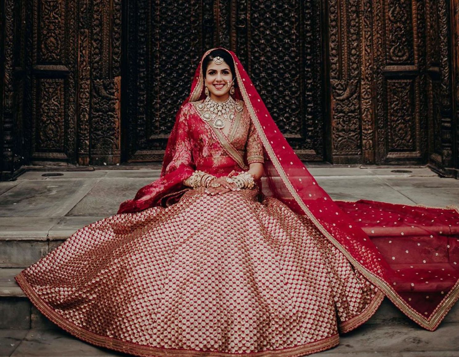 41 Red Wedding Lehengas That Will Compel You To Get Married Soon