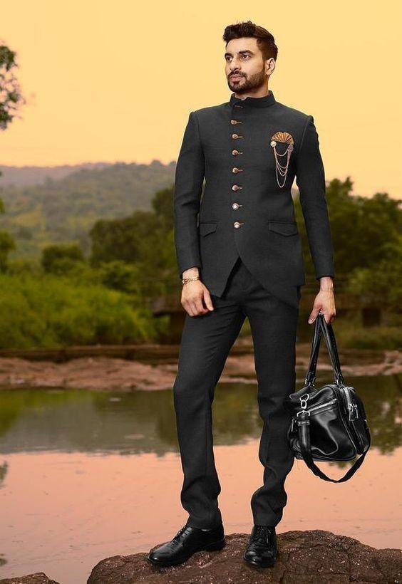 Jodhpuri Suit for men - Indian groom outfit