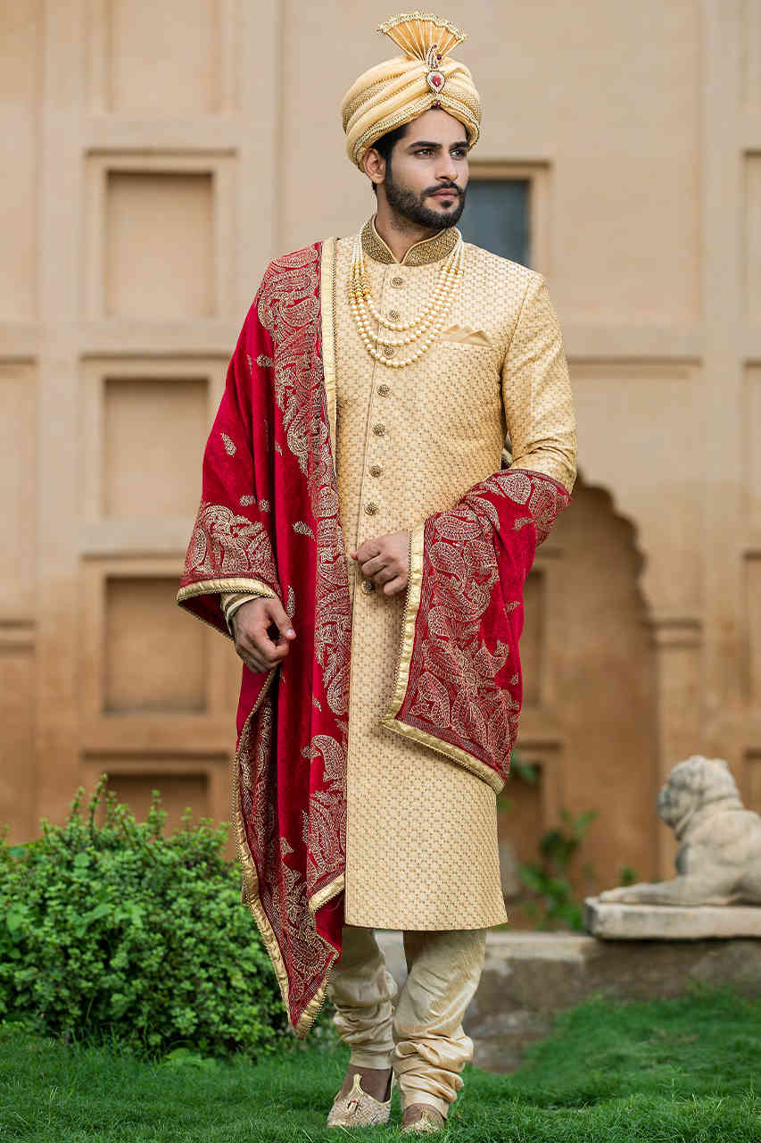 Accessories with Indian Groom Outfits - The Headgear