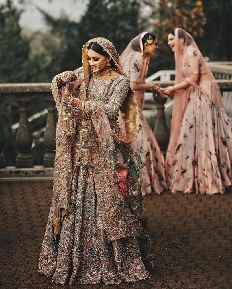 Wedding veer dress zaara Phulkari Lehnga