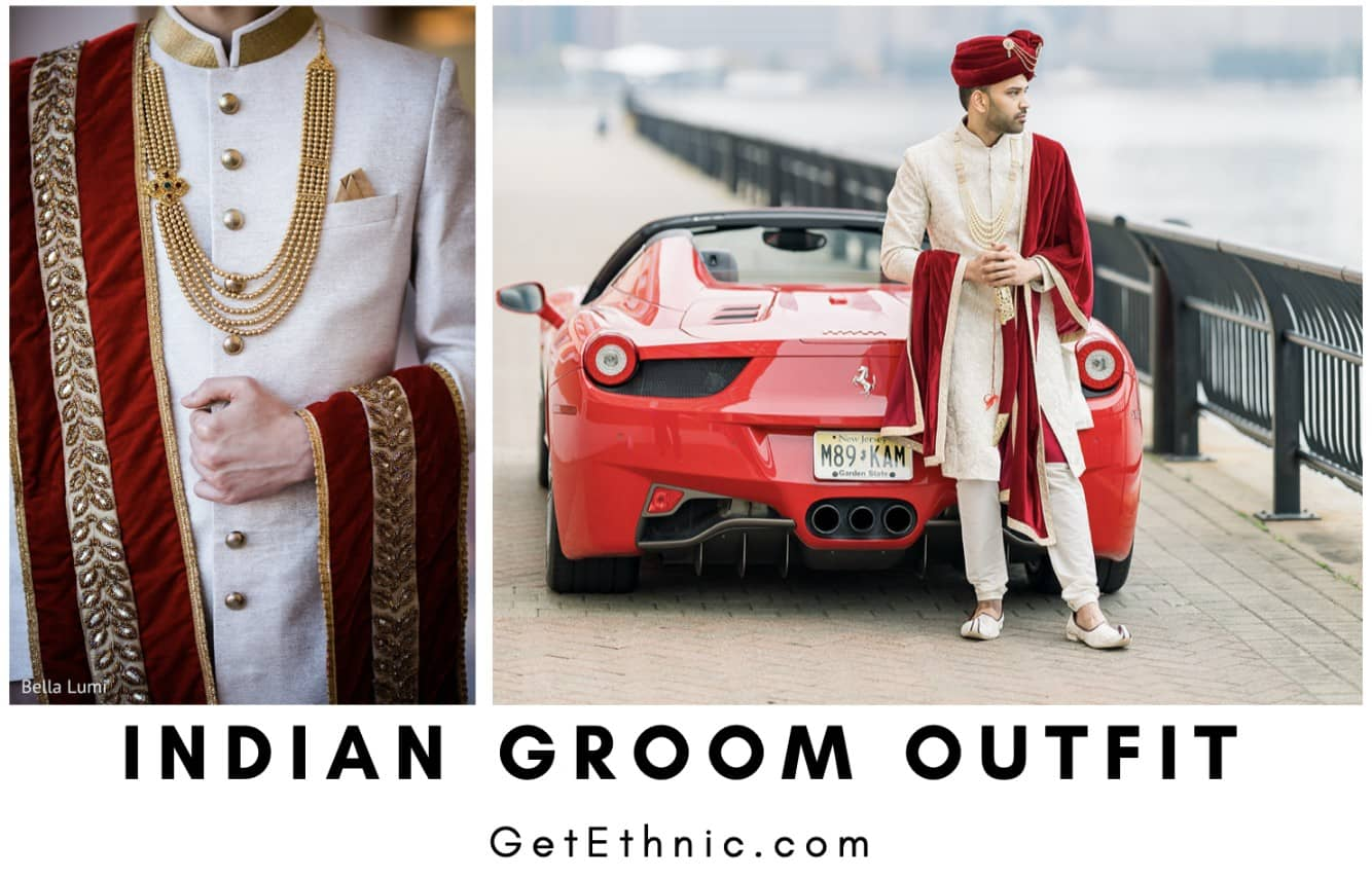Indian Groom's Outfit - By GetEthnic.com