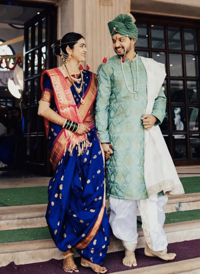 Indian Groom Outfit - Mint Kurta