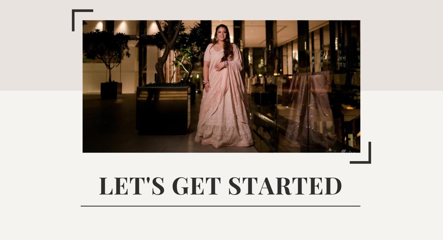 Get started - Lehenga making - getethnic