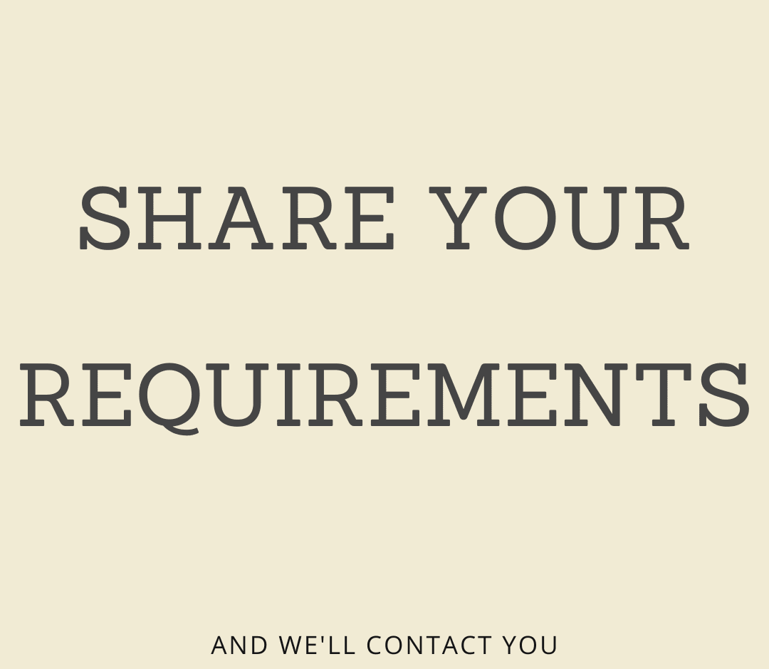 get started with your requirements